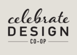 Logo celebrate design footer